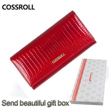 Women Purse Genuine Leather woman Wallet with Card Holder High Quality Leather Purse for Smartphone Female Clutch Wallet