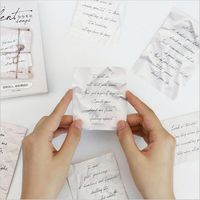 30Pcs Pack Retro Love Letters Memories Romatic Postcard Greeting Card Envelope Gift Birthday Card Message Card