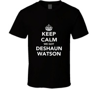 Newest 2018 Keep Calm Deshaun Watson Clemson Footballs Fan Unisex Funny T Shirt Novelty Tee Free