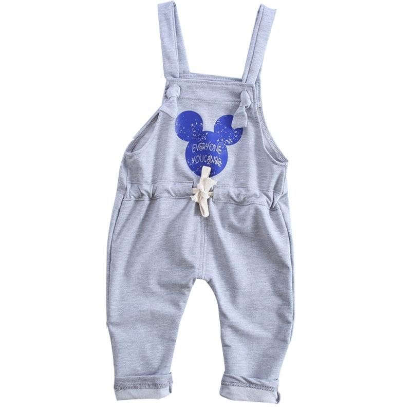 2017 spring new Korean fashion cotton baby pants 1 piece 0-2 year Cartoon brand baby boys pants baby girls pants