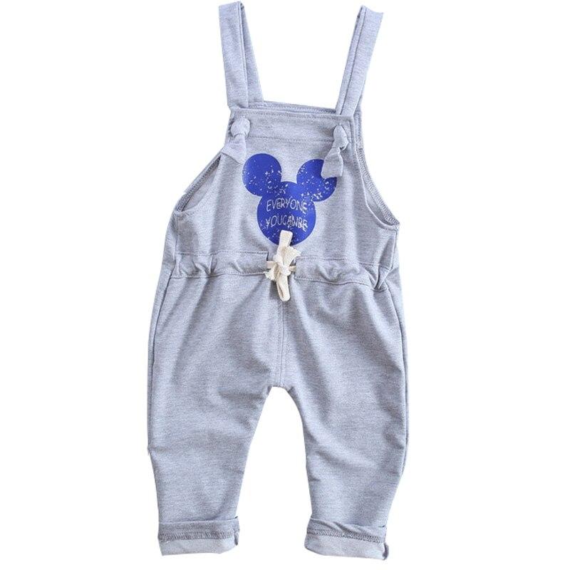 2018 Printemps Automne nouveau Mode Coréenne Coton Bébé Pantalon 1 pièce 0-2 Année Bande Dessinée Marque Bébé Garçons Pantalon bébé Filles Pantalon