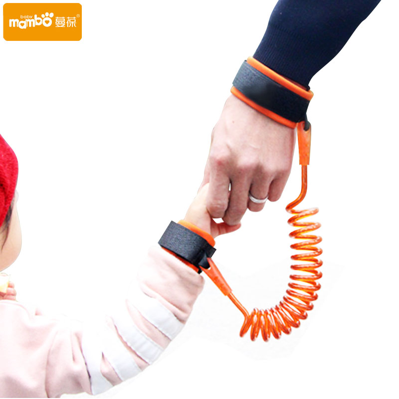 Adjustable Kids Safety Harness Child Wrist Leash Anti-lost Link Children Belt Walking Assistant Baby Walker Wristband 1.5M/2.5M детские малыш малыш harness вышибала перемычка learn to walk moon walker assistant