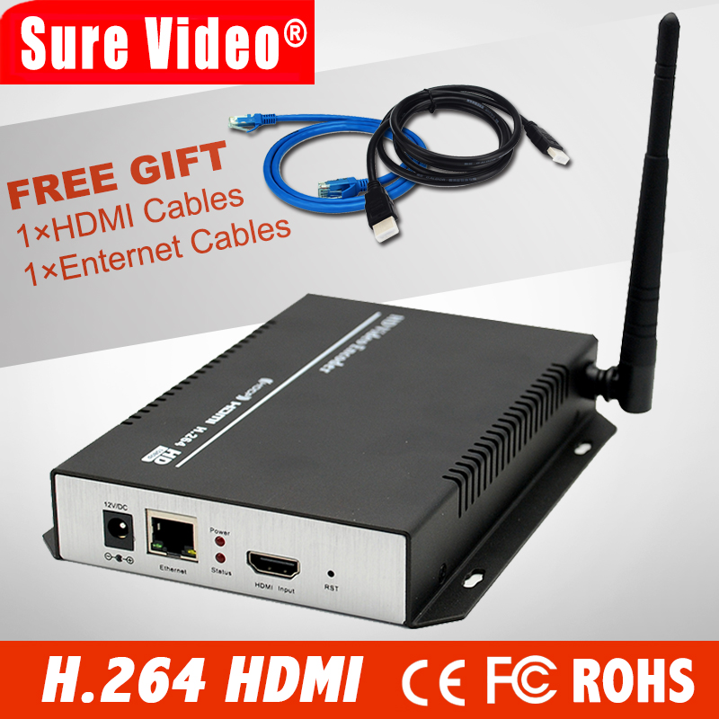 HD Encoder Hardware HDMI Encoder H.264 Wifi HDMI Over IP Wifi Encoder Support RTSP RTMP UDP Live Streaming Encoder IPTV high efficiency video coding
