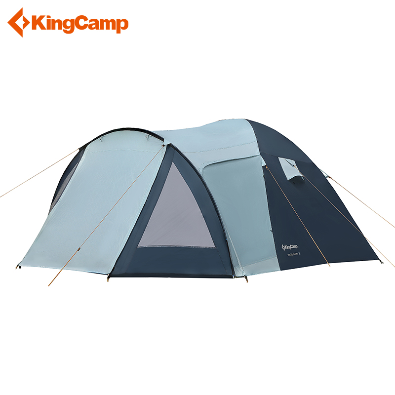 KingCamp Weekend Series Portable Durable Waterproof Breathable 2 3 4 Person Family Camping Dome Tent with
