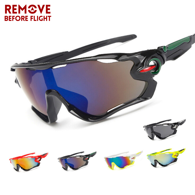 Motorcycle Glasses Cycling Eyewear Outdoor Sports MTB Bike goggles motocross double lens Sunglasses Windproof Eye Protection
