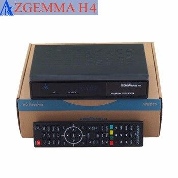 10 pcs/lot zgemma H4 picture in picture cable tv box 3 * dvb c triple cable tv decoder