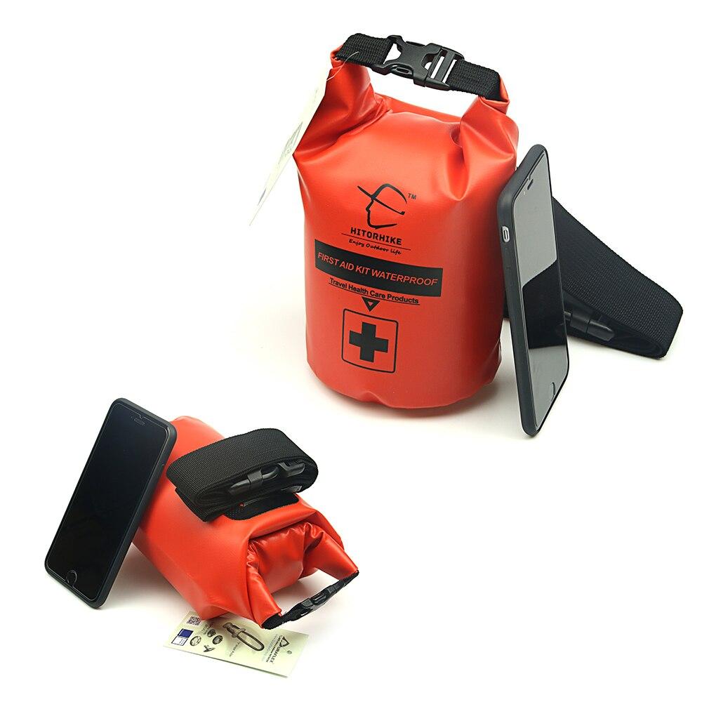 Waterproof dry bag 2L Waterdichte Ehbo Tas Nood Medische Kits Reizen Camping Wandelen Survival Droge Zak