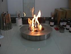 Inno living fire 8 liter ronde ronde ethanol haard buiten