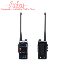 8W High Power CD Radio 4800mAh LEG radio baofeng talkie UV-B2 Plus dual VHF/UHF battery 128ch mobile walkie talkie LCD handheld