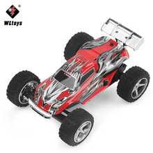 WLtoys 1:32 Mini RC Car 2.4GHz 4CH Radio Control Racing Cars Variable Speed Rock Rover Toys High Speed Off Road Vehicle for Boys