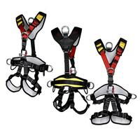 Открытый скалолазание альпинистские принадлежности средства ухода за кожей безопасности жгут носить ремень сидя бюст защиты