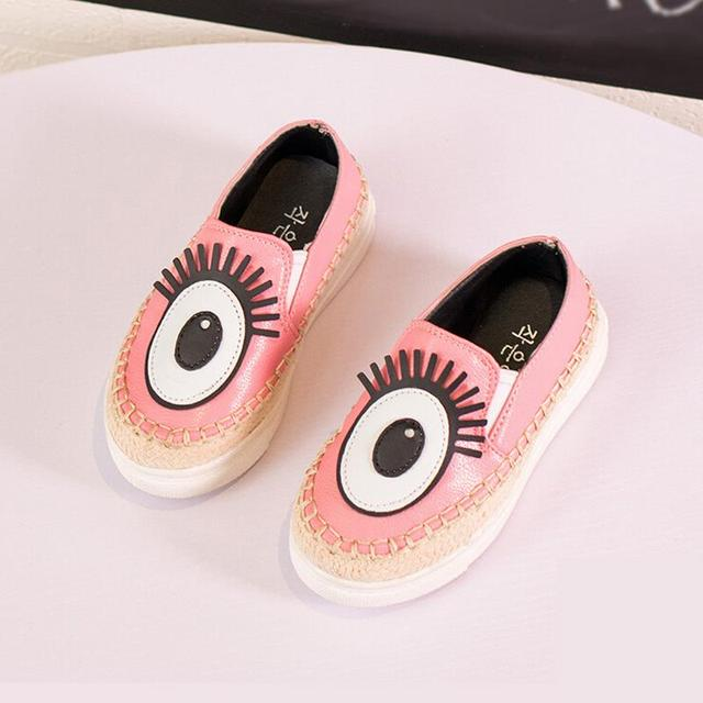 spring new children shoes boys girls shoes cute cartoon pu leather shoes girls flats comfortable loafers kids shoes boys loafers