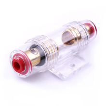 Universal 1pcs 12V 80A AGU Fuse Holder Block For Car Vehicle Subwoofer Audio Power Amplifier Cable
