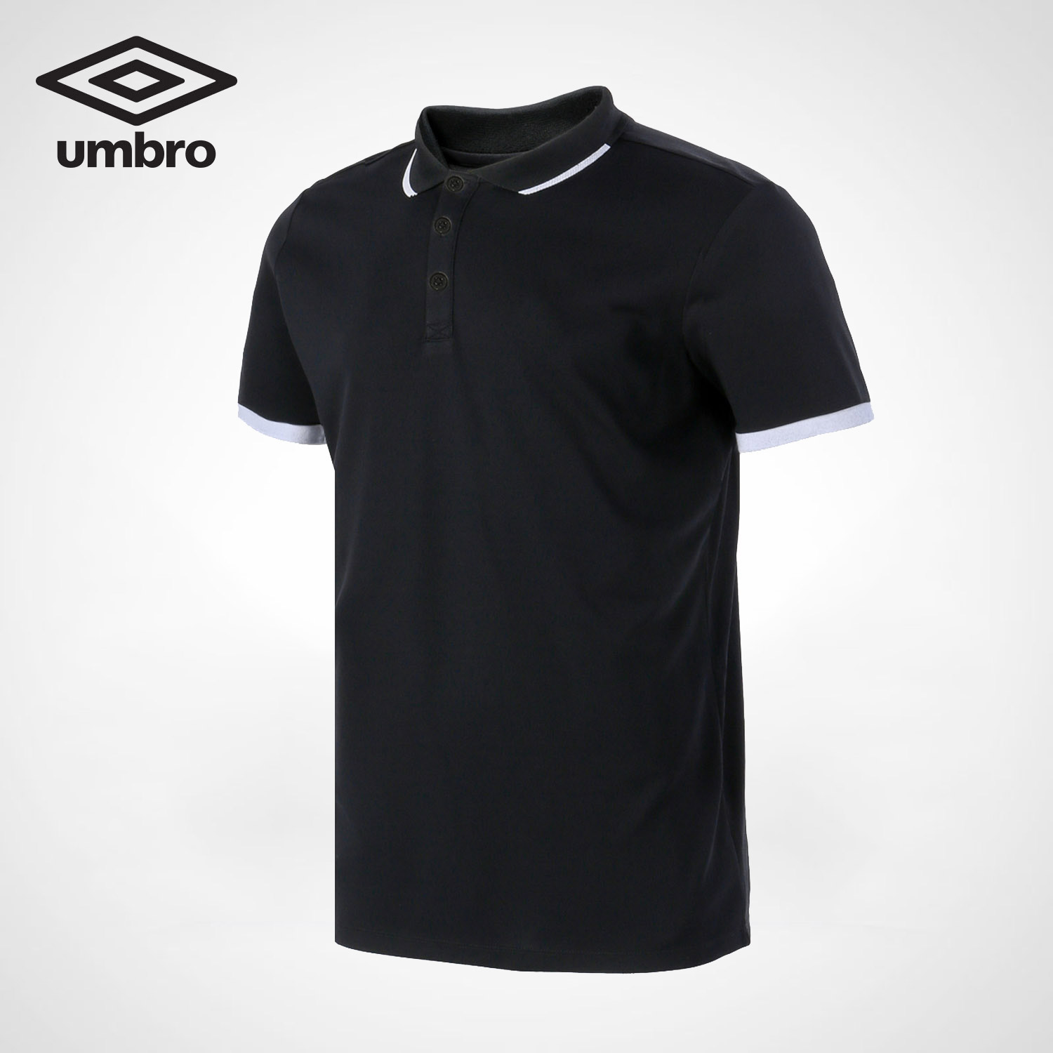 Umbro New Men Leisure Short Sleeved Polo Shirt Sports Style Breathable UO182AP2601