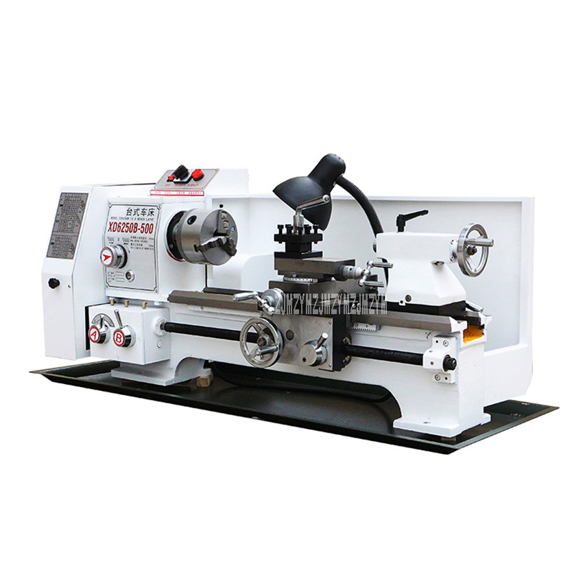 XD6250 Multifunctional Mini Turning Lathe Machine Household Desktop Precise Industrial Metal Processing Turning Mill 220V/380V