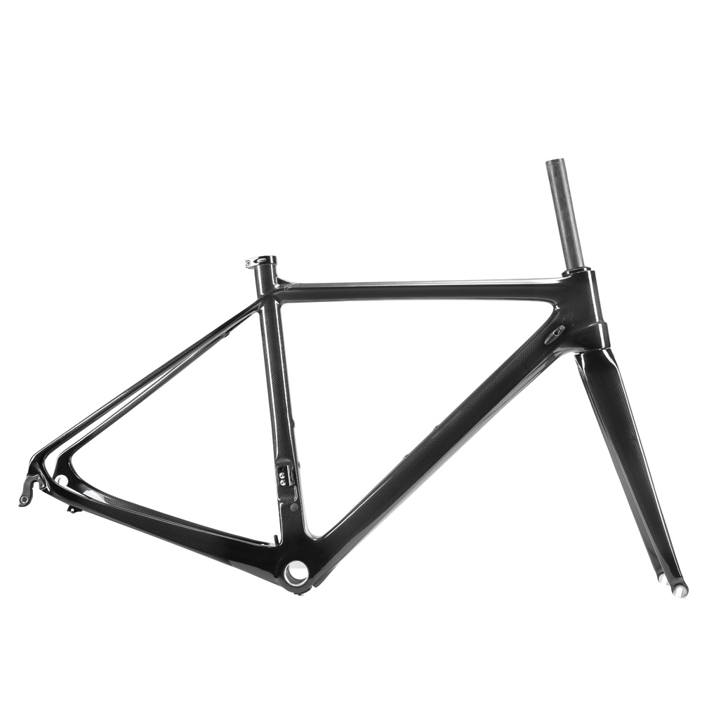 OG-EVKIN T1000 2018 Carbon Road Frame 700C 50cm 3K Glossy Carbon Fiber Bicycle Frame Cycling Road Bike Frameset Super Light BB68 2018 t800 full carbon road frame ud bb86 road frameset glossy di2 mechanical carbon frame fork seatpost xs s m l og evkin