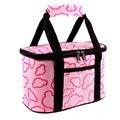 Новый Портативный обед мешки Толщиной рукавица изоляцией сумки обед женщины тепловой lunch box мешок tote сумочка 3 цвета Бесплатная Доставка