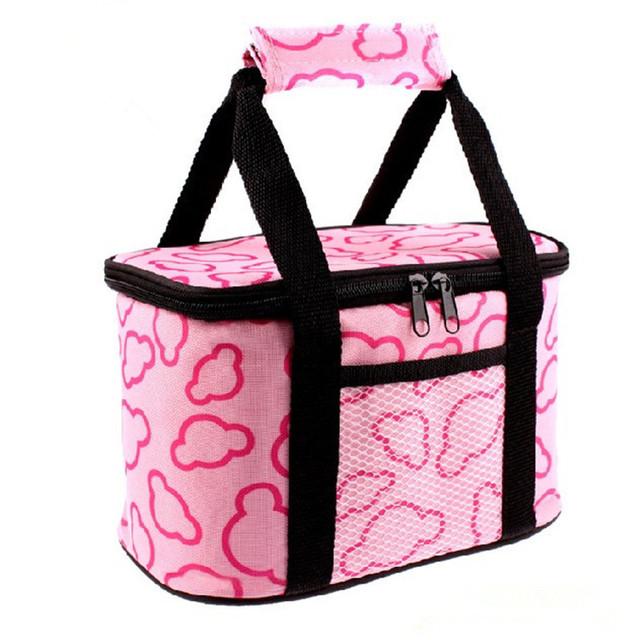 Novo Portátil almoço sacos de gelo Espesso Pacote lancheiras isolados para mulheres lancheira bolsa térmica tote handbag 3 cores Frete Grátis