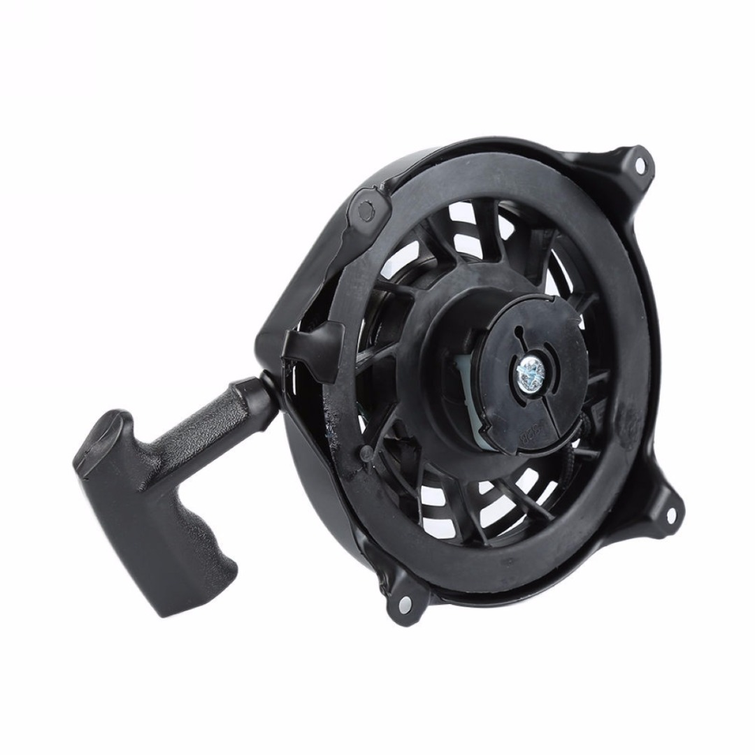 2017 Recoil Pull Starter For 497680 Engine Replacement Grass Trimmer Parts Gareden Tools Black Mayitr mayitr new recoil pull starter assembly for 593961 590588 591139 engines replacement lawn mover parts garden tools black