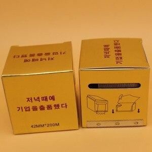 Image 3 - 10 상자 microblading 플라스틱 포장 42mm * 200m 방부제 필름 영원한 메이크업 눈썹 라이너 귀영 나팔은 부속품 덮개를 보호한다