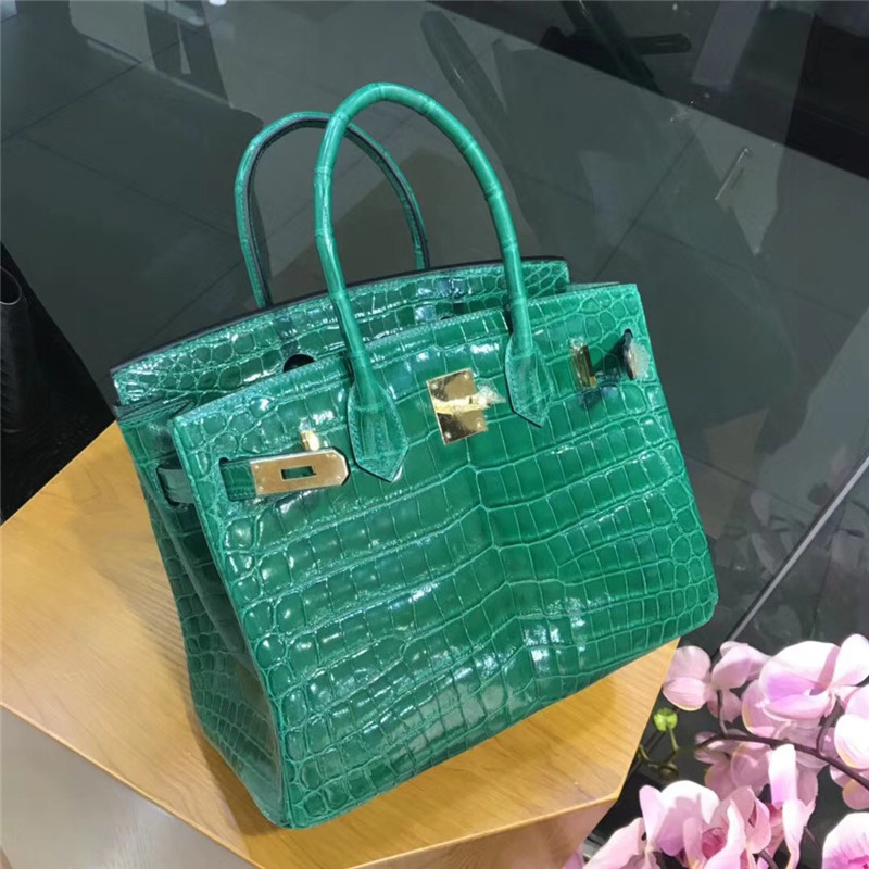 LGLOIV Real crocodile luxury handbags women bags designer with logo satchel custom-made 2018 birkinn bag lgloiv real crocodile luxury handbags women bags designer with logo satchel custom made 2018