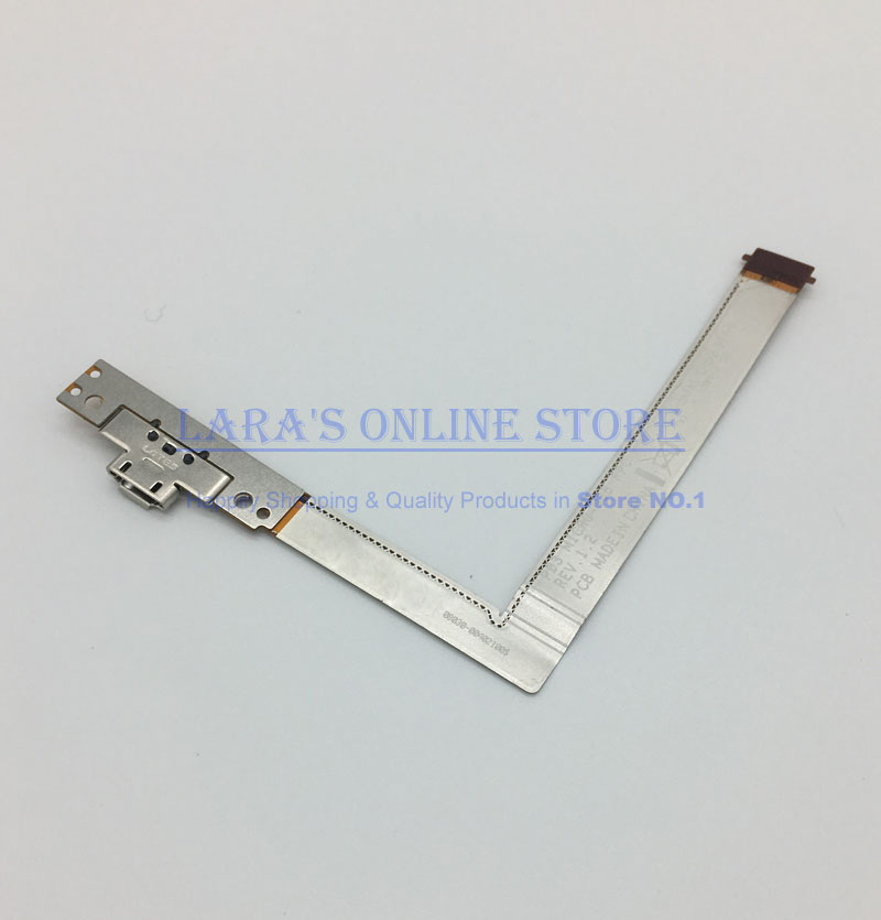 100% Genuine USB Date Charger Dock Port Flex Cable For Asus Padfone 2 Station P03 A68 REV 1.2 USB Charging Connector Flex Cable