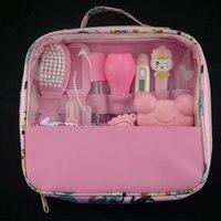baby hygiene kit kid healthcare baby care kit Baby Grooming Set kit thermometer clipper scissor kidporcelain baby hygiene kit
