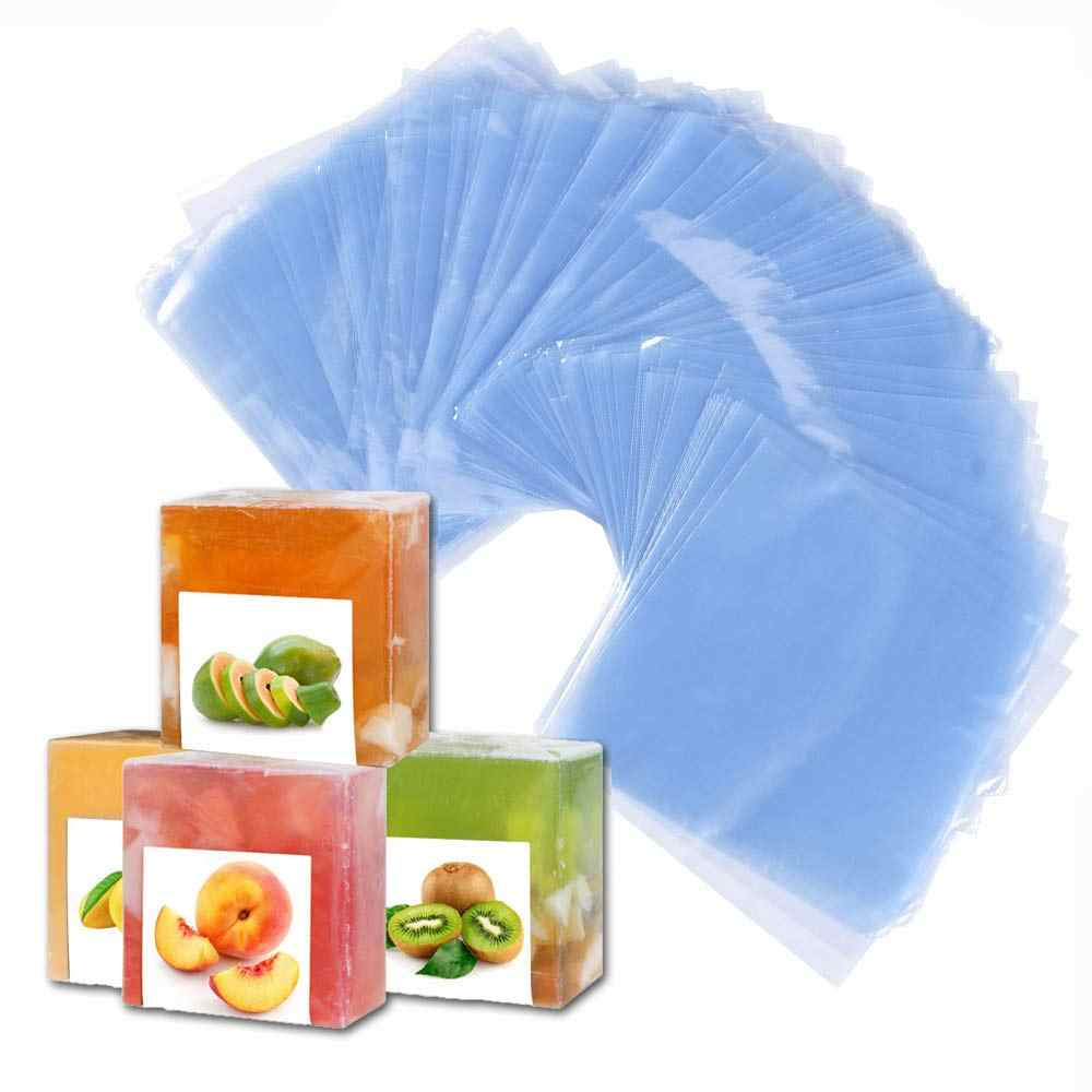 Shrink Bag 200 PCS Heat Shrink Wrap Bags 6X6 inch & 100 Gauge for Wrapping Bath Bombs, Soaps, Oil & Homemade Gifts