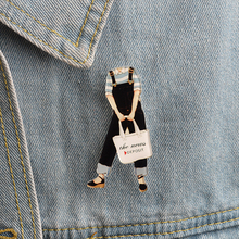 Resin pins Fashion model pins Brooches Badges Hard enamel lapel pin Hat Bag Jeans Pins Denim jackets Bags Backpack Accessories