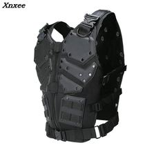 Unloading Tactical Men Combat Vest Tactical Military Vest Camouflage Vest Body Molle Armor Cs Jungle Equipment Masculino Jackets цена 2017