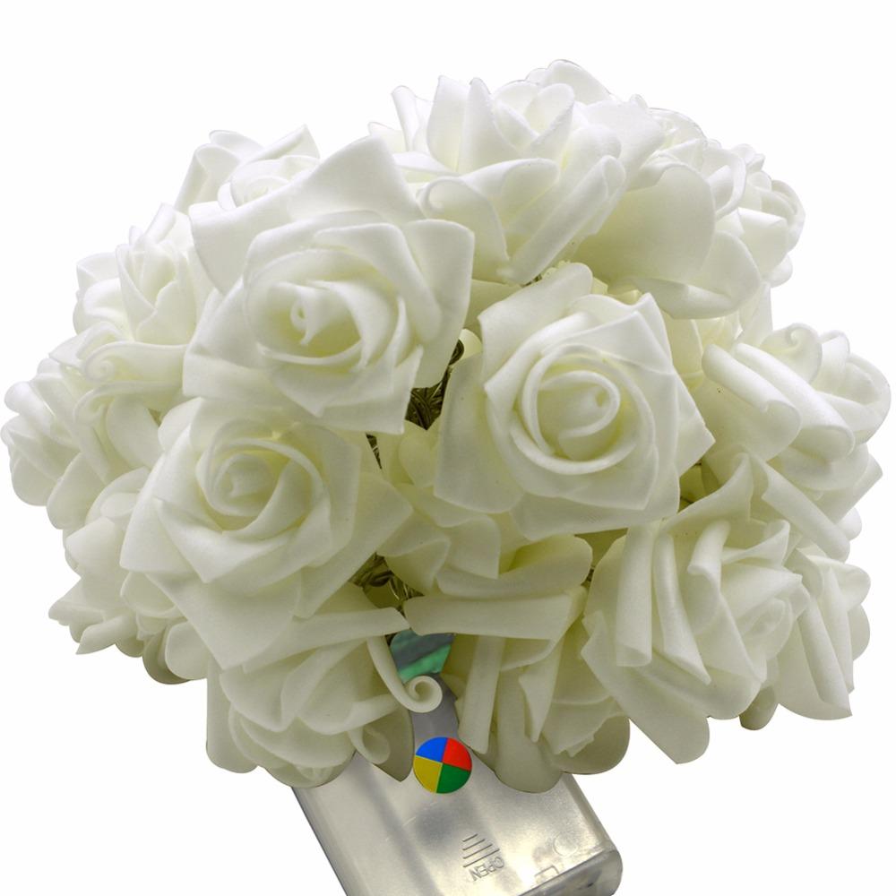 30leds Vovotrade 20 LED Rose Flower Fairy Wedding Christmas Decor String Lights (8)