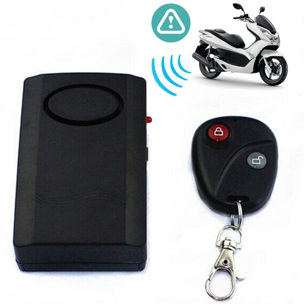 Wireless Remote Door Window Motorcycle Motorbike Moto Scooter Anti-theft Security Alarm Car Accessories