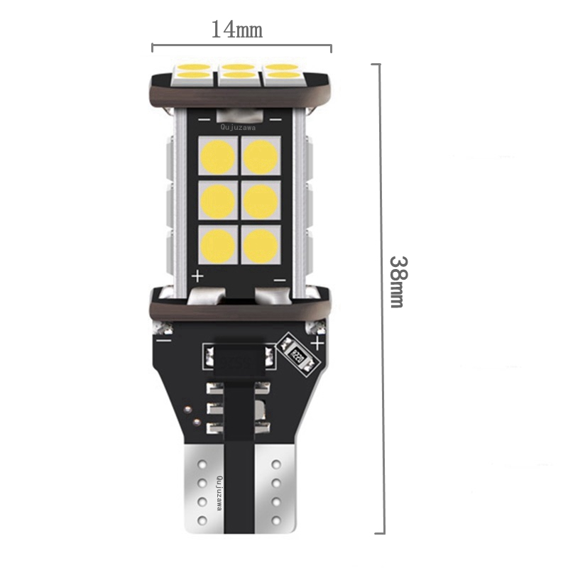 HTB1yyEZoMmTBuNjy1Xbq6yMrVXaq 2PCS T15 W16W 921 912 Super Bright 1200Lm 3030 SMD LED CANBUS NO OBC ERROR Car Backup Reserve Lights Bulb Tail Lamp Xenon White