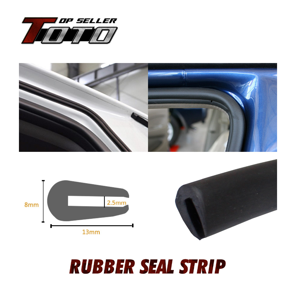 U Channel 590 1500cm Protector Car Door Rubber PVC Strip Edge Seal Trim Flexible Inner pillar resistance noise #64