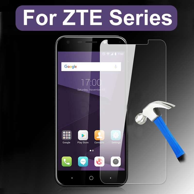 Protective Glass For Zte Blade A510 A512 A520 A601 A610 Axon 9 Pro A6 Plus V7 V8 6a The Tempered Glas On Screen Protector Film