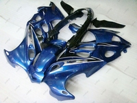 Motorcycle Fairing GSX600F 99 00 Body Kits GSX750 2006 1998 - 2006 Katana Blue Black Fairing Kits GSX750 2002