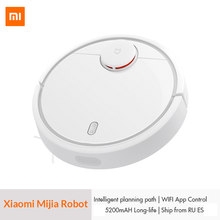 Original XIAOMI Mijia MI Robot Vacuum Cleaner for Home Automatic Sweeping Dust Sterilize Smart Planned Mobile App Remote Control(China)