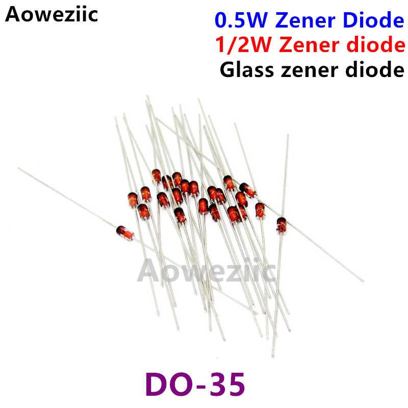 /' 0.5W 1//2W 4.3V Zener Diode 10 pcs DO-35 BZX55C4V3 from USA