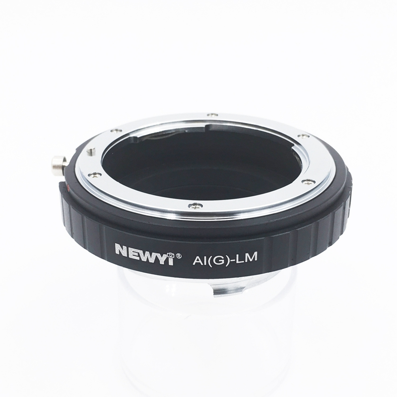 NEWYI Adapter For N ikon Ai F G Af S Mout Lens To FM Lm L/M Camera New Camera Lens Ring Accessories-in Lens Adapter from Consumer Electronics