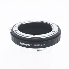 Newyi 어댑터 n ikon ai f g af s mout 렌즈 fm lm l/m 카메라 새 카메라 렌즈 링 액세서리