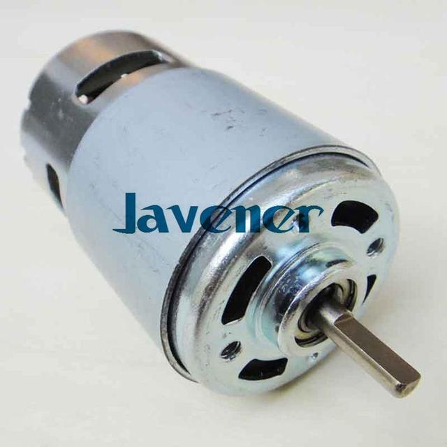 Dc Motor Oblate D Style Axle 12v Mini Generator Diy High Torque