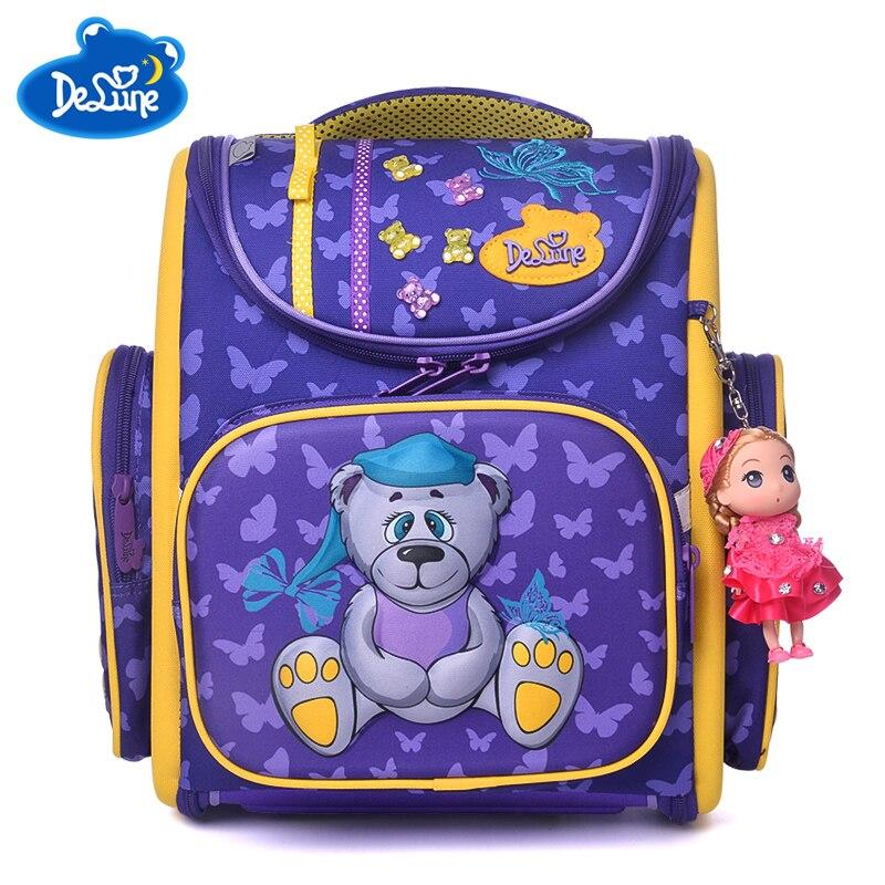 2018 г. Лидер продаж Мода Мультфильм Школьные сумки для мальчиков и девочек ортопедические детские школьные рюкзаки школьные детские книги с