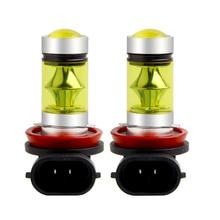 H11 LED H8 H16 Автомобильные противотуманные лампы HB3/9005 9006/HB4 5202 Высокая мощность 3030 20SMD светодиодные лампы для автомобильные лампы дневного света