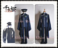 Hot New Senbonzakura Vocaloid KAITO Cosplay Cosplay del Kimono envío gratis uniforme del ejército