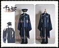 Hot New Vocaloid KAITO Senbonzakura Cosplay traje Kimono uniforme do exército frete grátis