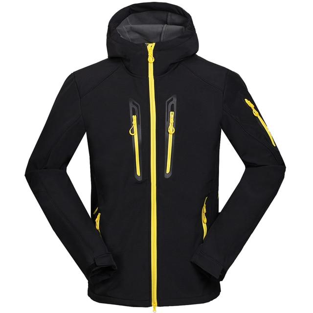 Spring Men Leisure Trekking Chaqueta Hombre Outdoors Softshell Jacket Windbreaker Jaqueta Masculina Water Resistant  Coat