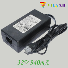 1Pcs For HP OfficeJet PSC 1350 1355 2410 2410xi 2450 2510 2600 2610 5510 New 0957-2146 32V 940mA AC Power Adapter Charger  стоимость