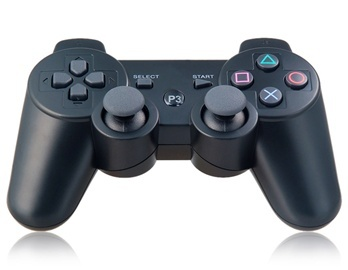 Six-Axis DualShock Wireless Controller for PlayStation 3 (Black)