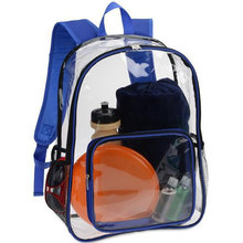 b5e3dd0854a2 Jelly PVC Backpack Women Clear Transparent Knapsack Ladies Fashion Plastic  Travel Bags Large Capacity Rucksack Solid Color New