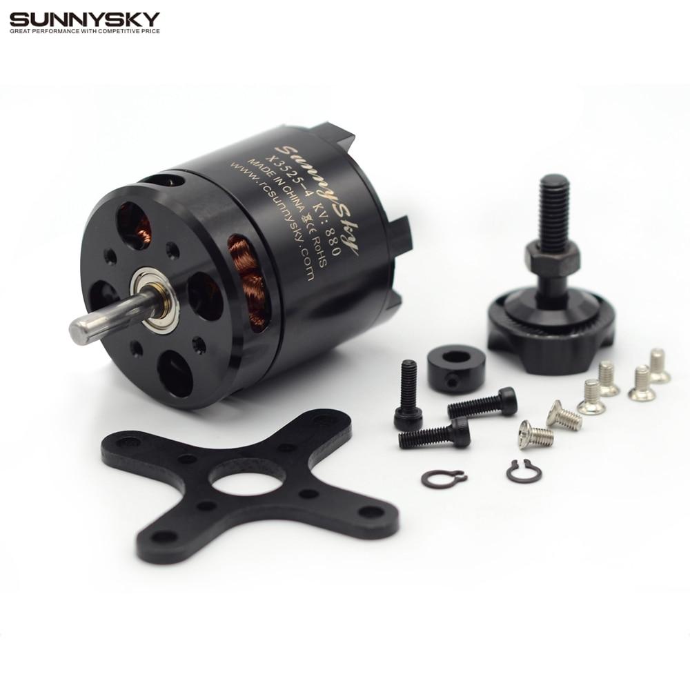Оригинальный Sunnysky X3525 520KV 720KV 880KV бесщеточный Двигатель x серии для FPV-системы MultiCopter RC Quadcopter